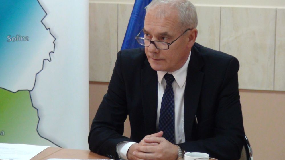 Na zdjęciu starosta leski, Andrzej Olesiuk. foto: archiwum Lesko24.pl