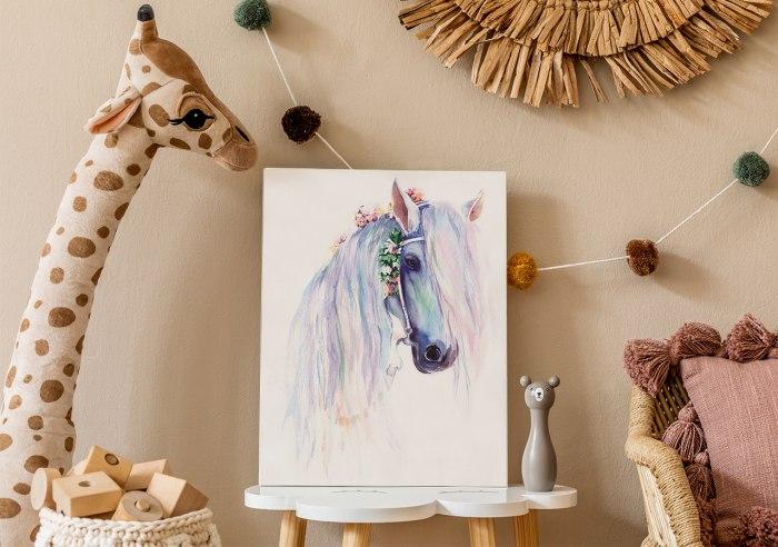 Obraz koń dziecięcy