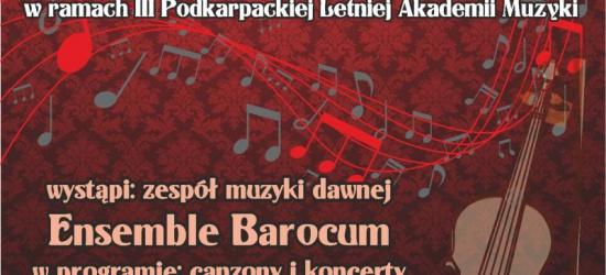 Wkrótce III Podkarpacka Letnia Akademia Muzyki Lesko/Olszanica 2014