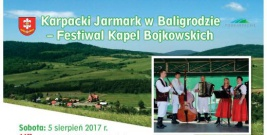 Karpacki Jarmark w Baligrodzie – Festiwal Kapel Bojkowskich
