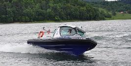 Policja na wodzie. Dodatkowe patrole na Jeziorze Solińskim (FILM, ZDJĘCIA)