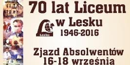Zjazd Absolwentów Liceum Ogólnokształcącego w Lesku 1946-2016
