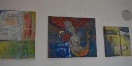 """Olga Chyhryk """"Malarstwo"""" – wernisaż wystawy (fotorelacja)"""