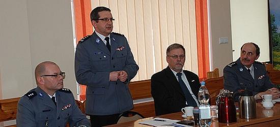 Odprawa roczna leskich policjantów (ZDJĘCIA)