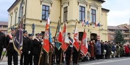 """AKTUALIZACJA. """"Wolność nie jest nam dana na zawsze"""". Obchody odzyskania niepodległości w Lesku (FILM, ZDJĘCIA)"""