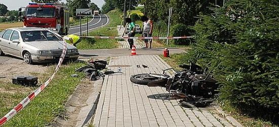 Kolizje z udziałem motocyklistów w Bieszczadach