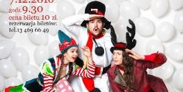 """Teatr Kultureska zaprasza na spektakl """"Świąteczne Śledztwo"""""""