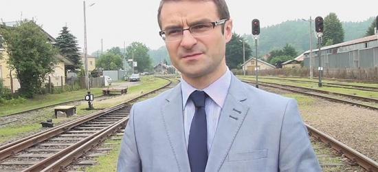Tomasz Poręba: Bez kolei degradacja Zagórza i regionu Bieszczad będzie postępować (FILM, ZDJĘCIA)