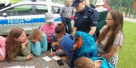 Dzień Dziecka z leską policją w Hoczwii (ZDJĘCIA)