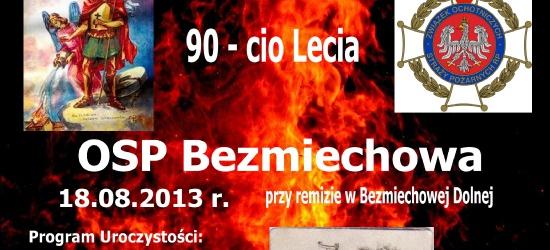 Jubileusz 90-lecia OSP Bezmiechowa