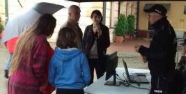 Mieszkańcy Leska poznali możliwości Krajowej Mapy Zagrożeń Bezpieczeństwa
