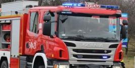 Nie ustąpił pierwszeństwa wozowi strażackiemu na sygnale. Leska policja szuka kierowcy seata