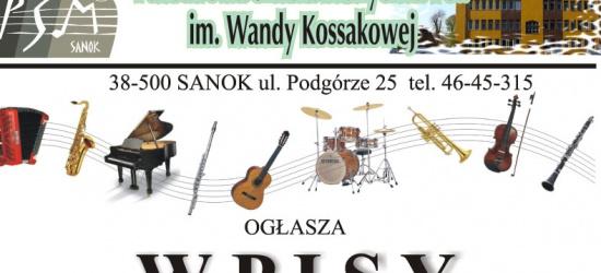 Przesłuchania wstępne i egzaminy dla kandydatów w Państwowej Szkole Muzycznej w Sanoku