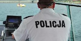 LESKO24.PL: Policjanci z pomocą dla turystów podczas burzy na jeziorze
