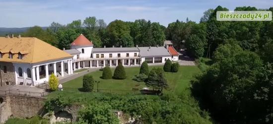 Zamek w Lesku. Malownicze krajobrazy, noclegi w historycznym obiekcie, przyjęcia, swojskie jadło (VIDEO)