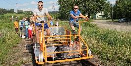 Bieszczadzkie Drezyny Rowerowe nagrodzone w prestiżowym konkursie. Będzie gala w Pałacu Belwederskim (ZDJĘCIA)