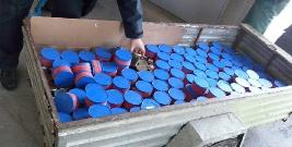 Nielegalny, rzadki kawior za ponad milion złotych. Ukraińcom grozi nawet do 5 lat więzienia (ZDJĘCIA)