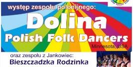 Występ zespołu polonijnego Dolina Polish Folk Dancers