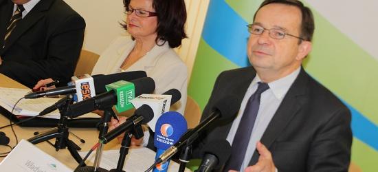 Pierwsza konferencja nowego Zarządu Województwa Podkarpackiego. Obowiązki rozdzielone, plany nakreślone (FILM, ZDJĘCIA)