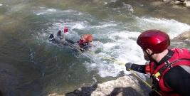 Szkolenie z ratownictwa na rzekach górskich (ZDJĘCIA)