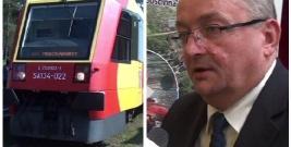 """ZAGÓRZ: Wielka szansa dla kolei. Czy wkrótce ożyją połączenia z Ukrainą i Słowacją? """"Będą efekty tej wizyty ministra"""" (FILM)"""