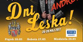26-28 MAJA: Dni Leska 2017