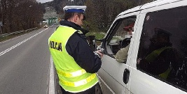 Policjanci z Leska przebadali 50 kierowców. Złapali jednego nietrzeźwego
