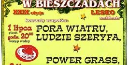 LESKO: Country w Bieszczadach już 1 i 2 lipca