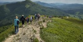 Rekordowy sezon letni na bieszczadzkich szlakach