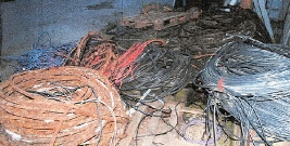 POWIAT LESKI: Złodzieje przewodów z zapory przyłapani na gorącym uczynku