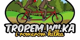 """""""Tropem Wilka"""" na rowerach."""