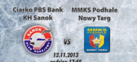 TRANSMISJA NA ŻYWO: Ciarko PBS Bank KH Sanok – MMKS Podhale Nowy Targ. Tylko w Esanok.pl