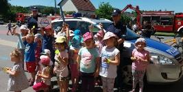 Dzień Dziecka z leską policją (ZDJĘCIA)