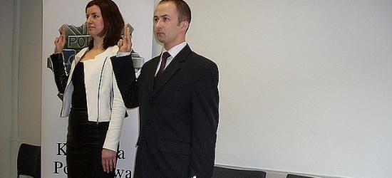 Nowo przyjęci policjanci złożyli ślubowania (ZDJĘCIA)