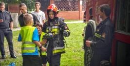 Akcja wakacyjna strażaków z Jednostki Ratowniczo-Gaśniczej w Lesku (ZDJĘCIA)