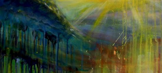 Poplenerowa wystawa malarstwa uczniów Liceum Plastycznego w Lesku (ZDJĘCIA)