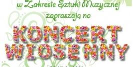 Koncert Wiosenny w sanockiej PWSZ
