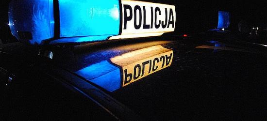 Ucieczkę przed policjantami zakończył w rowie