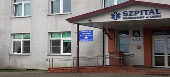 Leski szpital nadal bez dyrektora. Związkowcy zorganizują pikietę protestacyjną?