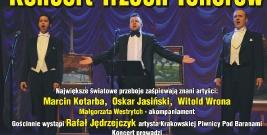 BIESZCZADY: Koncert trzech tenorów w Lesku