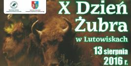 X Dzień Żubra w Lutowiskach