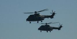 UWAGA: Liczne loty śmigłowców wojskowych w związku z aktualizacją map
