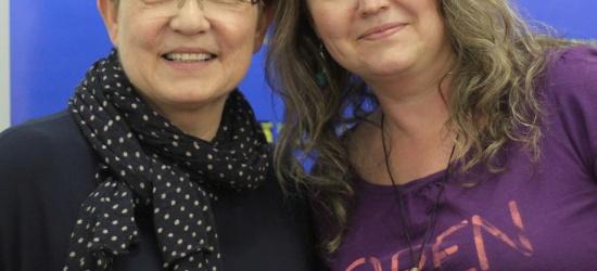 """Krystyna Czubówna odwiedziła sanockich studentów. """"Jej głos powinien być dobrem narodowym"""" (ZDJĘCIA)"""