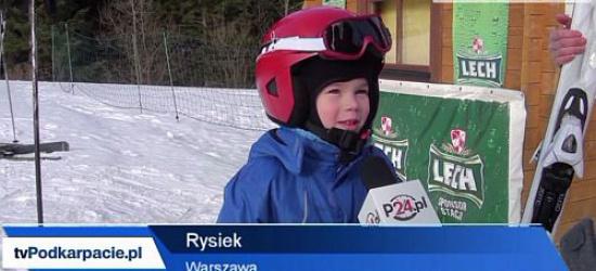 BIESZCZADY24.PL: Białe szaleństwo w Bieszczadach (FILM)