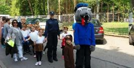 Policjanci promowali bezpieczeństwo podczas Dni Leska (ZDJĘCIA)